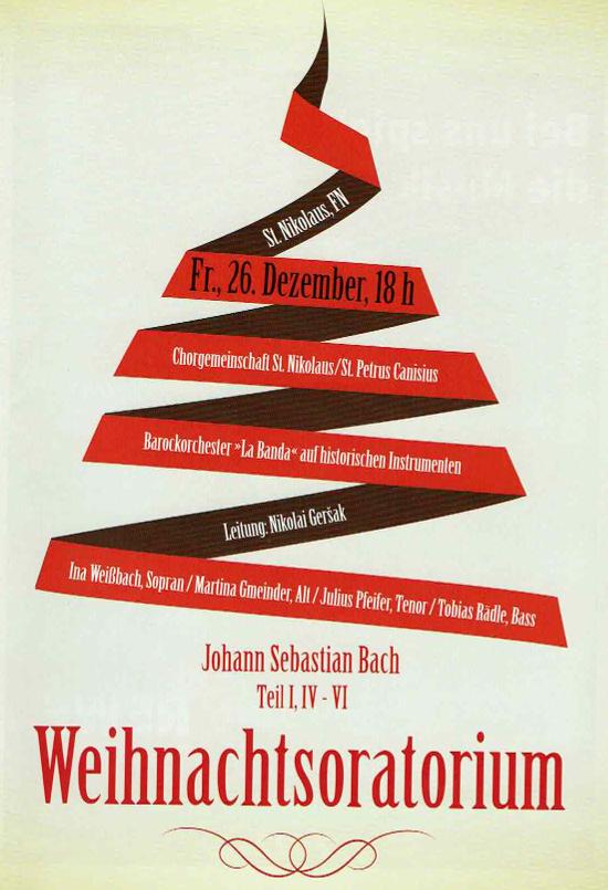 image from 2014: Weihnachtsoratorium von Bach