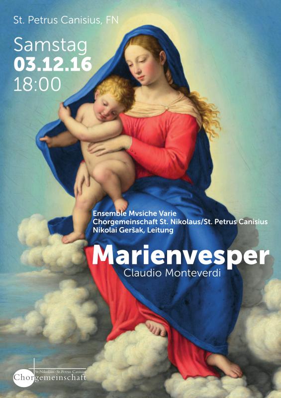 image from 2016: Marienvesper von Claudio Monteverdi