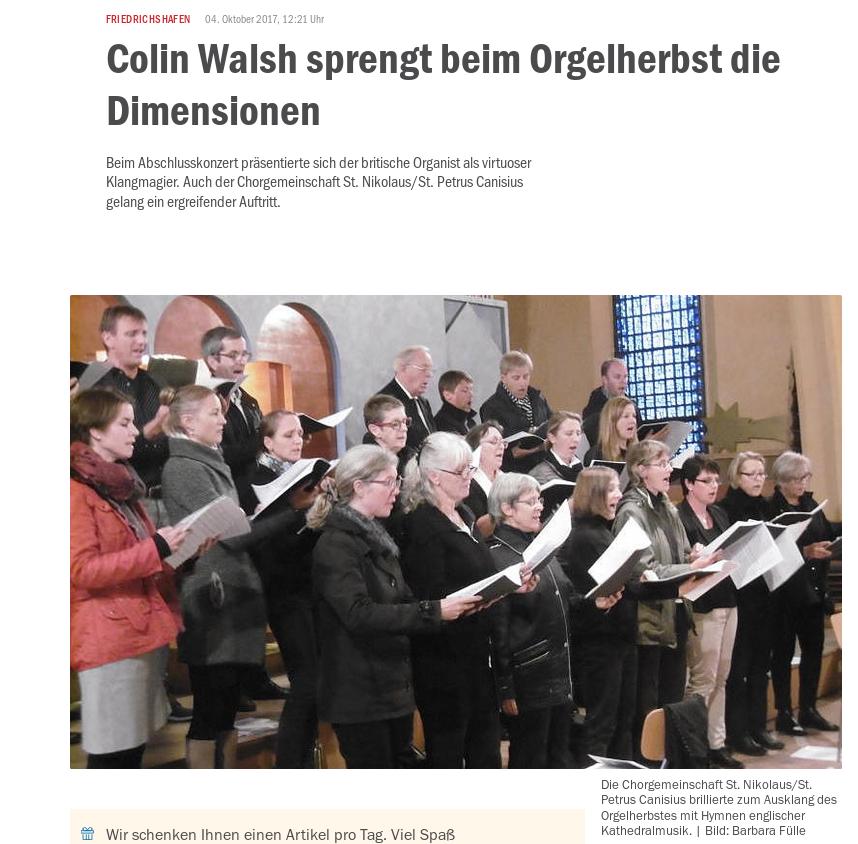 image from 2017: Orgelherbst und Altarweihe