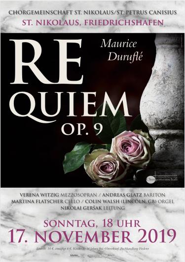 image from 17.11.2019: Requiem von Duruflé in St. Nikolaus Friedrichshafen